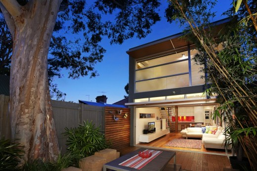House on North Avenue Sydney - Australian Architecture