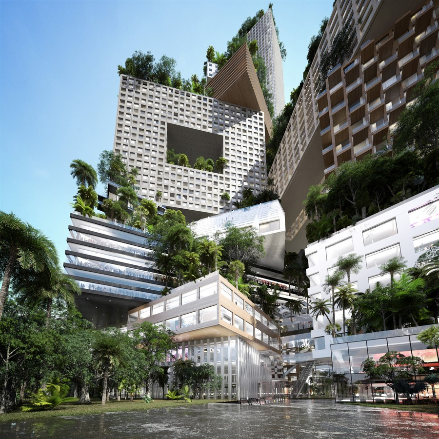 Architizer architects buildings and building products - Peruri 88 Jakarta Tower Building E Architect