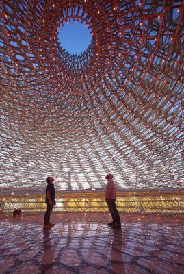 UK Pavilion Expo 2015 in Milan interior