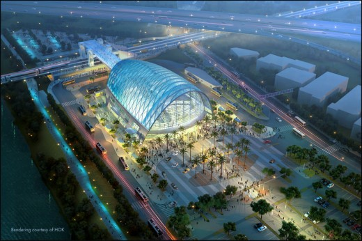 ARTIC - Anaheim Regional Transportation Intermodal Center