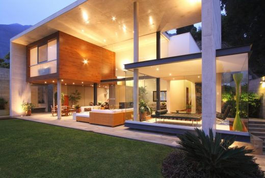 Casa S in Lima, Peru house design by domenack arquitectos