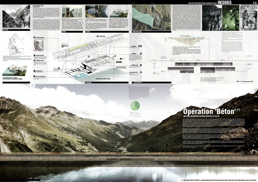 Architecture Drawing Competition 2014 innatur architecture competition - e-architect