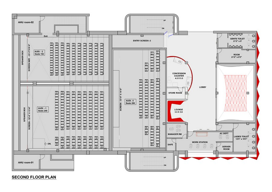 multiplex floor plan layout e architect