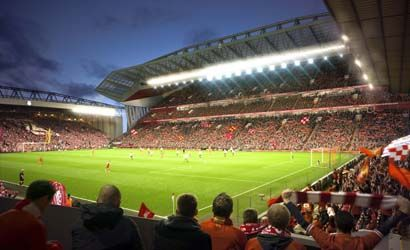 New Anfield Football Stadium