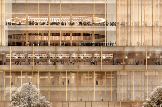 Nobel Center building design by David Chipperfield Architects