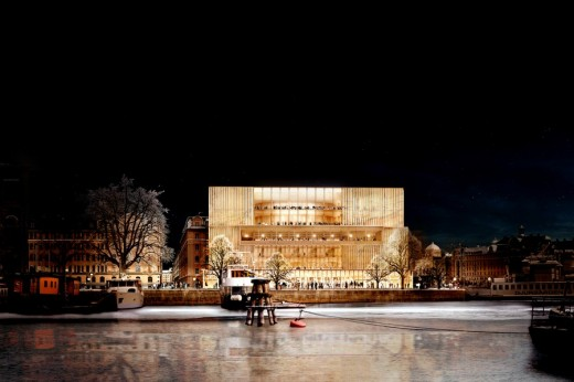 Nobel Center design by David Chipperfield Architects