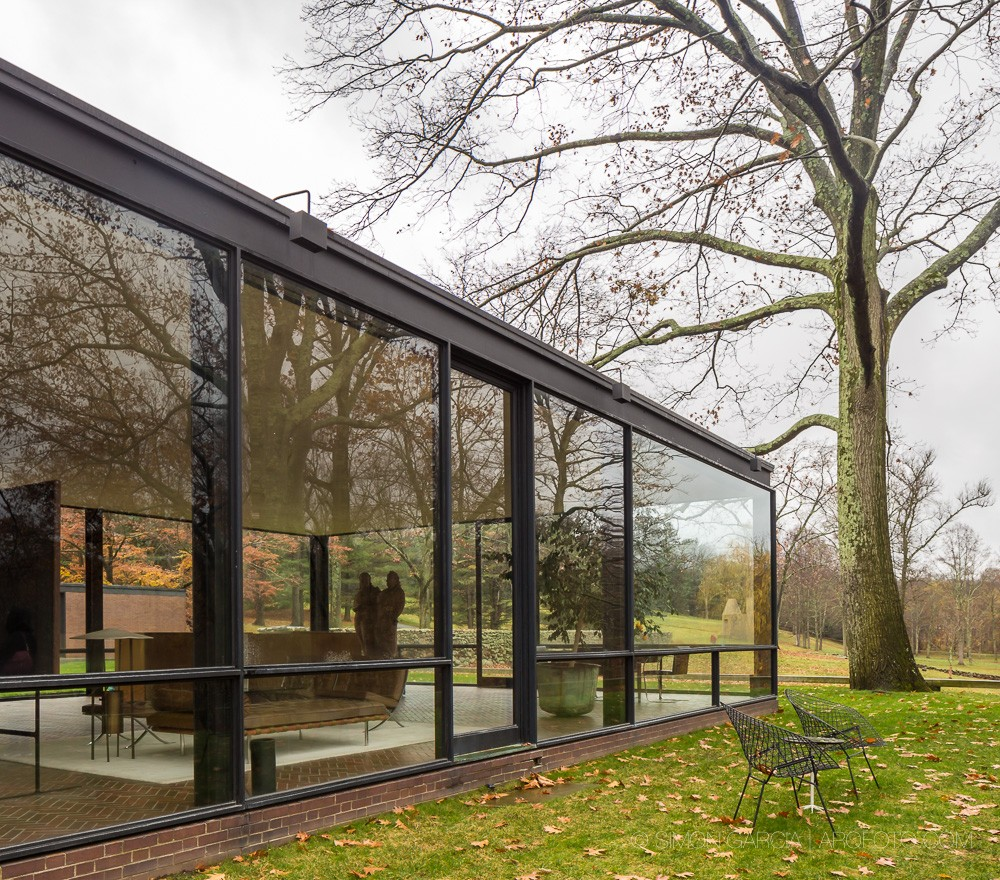 Philip Johnson Glass House New Canaan E Architect