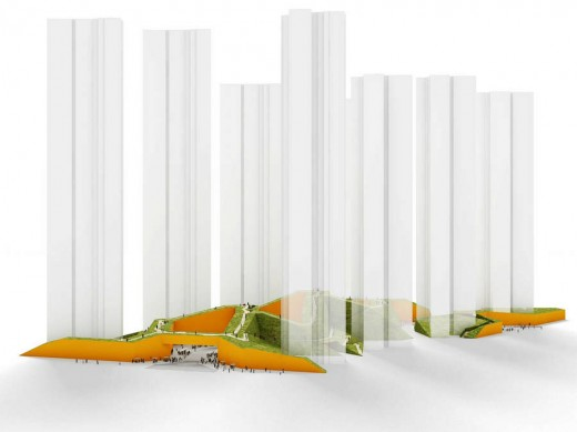 Chinese masterplan design design by NL Architects