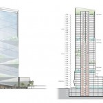 Chinese Skyscraper in Wenzhou Drawing 4