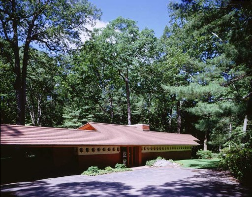 Zimmerman House design by Frank Lloyd Wright