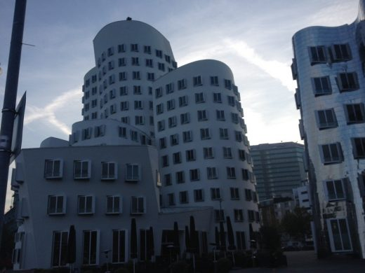 Neue Zollhof office complex building
