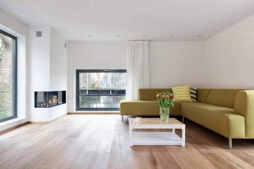Contemporary Dutch home design by BYTR architects