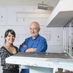 Peter Zumthor, mentor and Gloria Cabral
