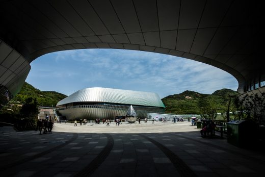 Qingdao World Horticultural Expo Theme Pavilion building