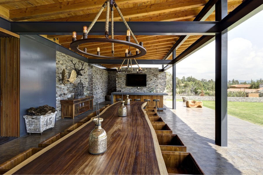 Casa vr tapalpa mexico 1 e architect for Vr house