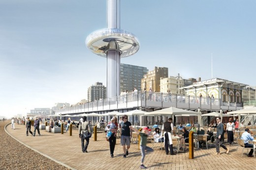 Brighton i360 Construction 2