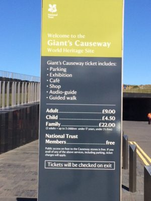 Giants Causeway Visitor Centre Building