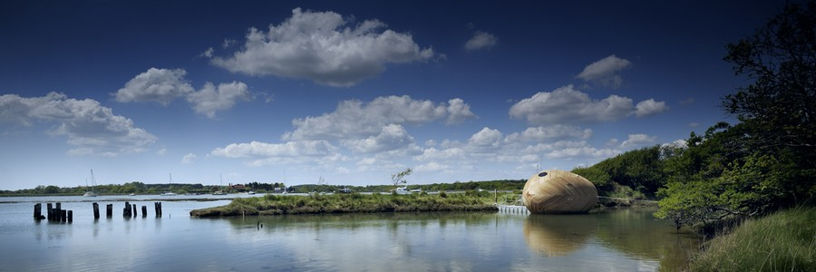 The Exbury Egg, Live Work Play Exhibition
