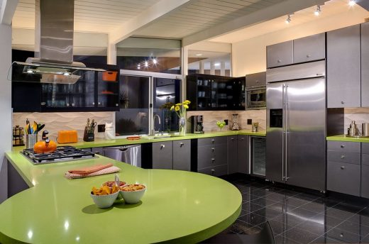 Martini House in Palm Springs kitchen