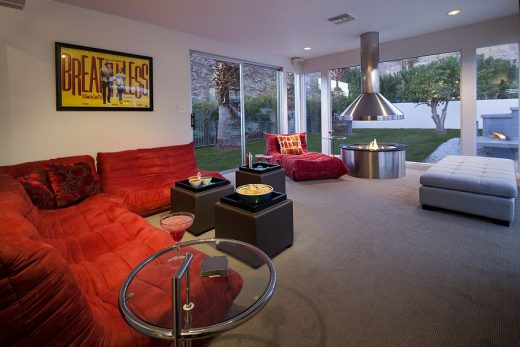 Martini House in Palm Springs living space