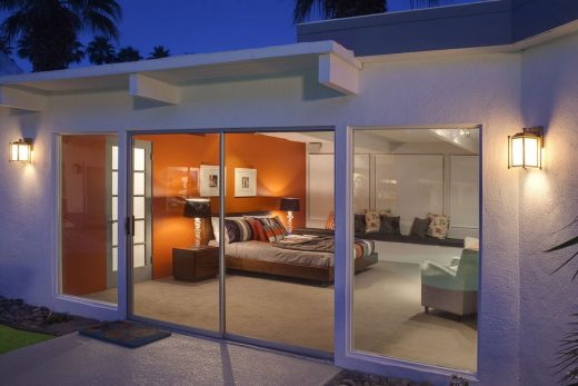 Martini House in Palm Springs glazing