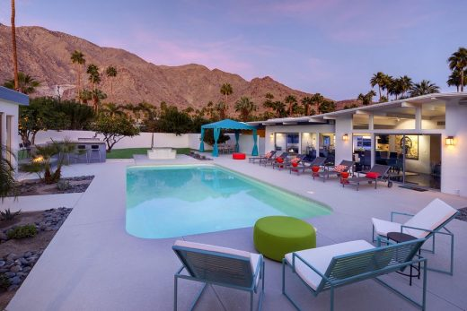 Martini House in Palm Springs swimming pool