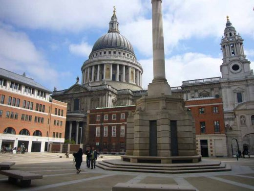 Paternoster Square London building by Whitfield Partners