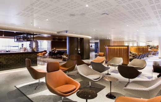 Qantas New Business Lounge