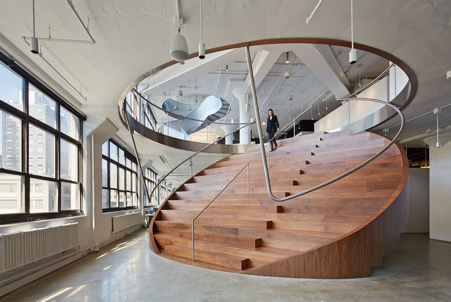 Wieden kennedy office in new york e architect for Interior design recruitment agency new york