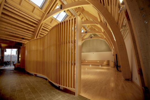 Aanischaaukamikw Cree Cultural Institute Montreal by Rubin & Rotman Architects