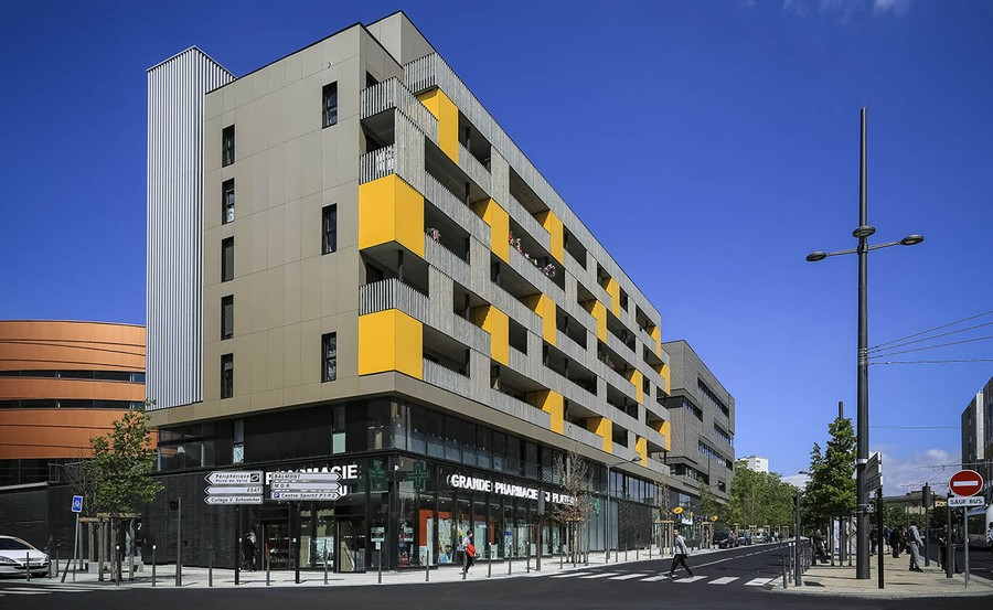 Block 32 France Mixed Use Building 5 E Architect