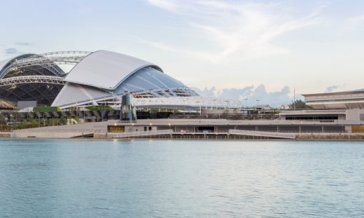 National Stadium Singapore Sports Hub Building