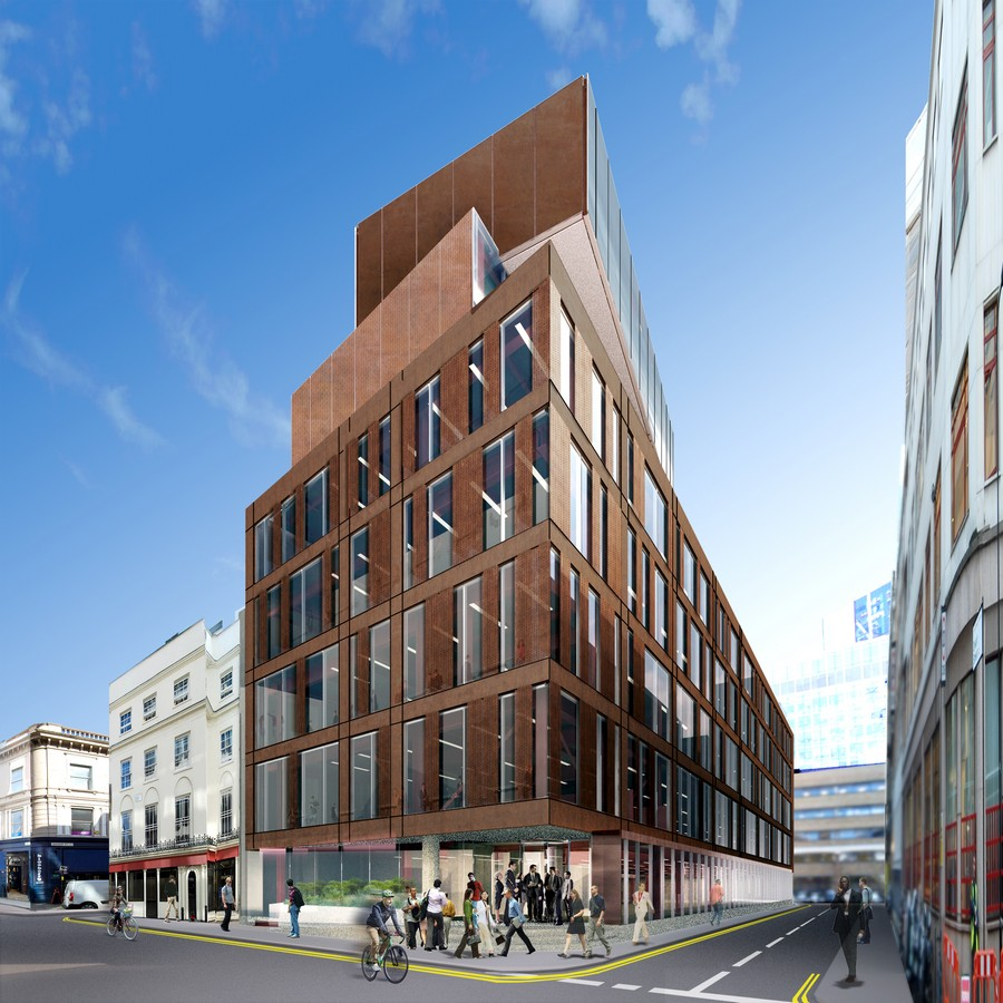 Summit House London Ec2 E Architect