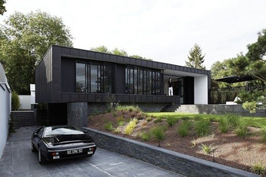C House in Paris, Eco‐Friendly home