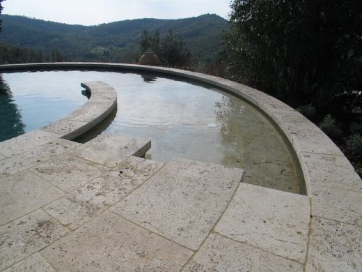 Circular Swimming Pool Tuscany