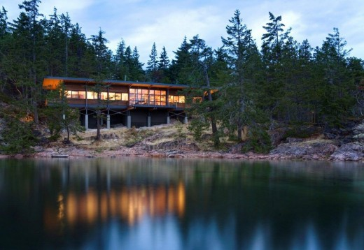 Cortes Island Residence Canada