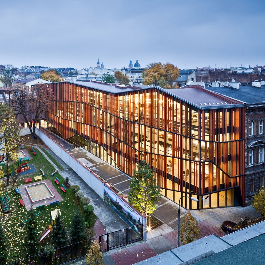 Malopolska garden of arts building e architect for Award winning architects