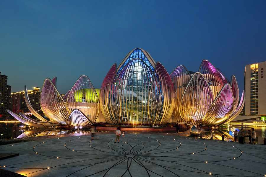 Lotus Exhibition Centre And People S Park China 3 E