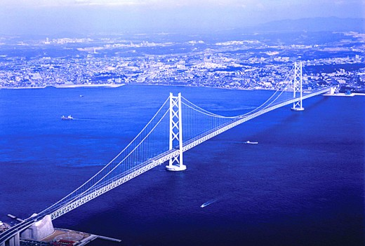 Akashi Kaikyo Bridge - Structural Marvels of the World