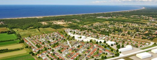 Butterfly Square in Halland County