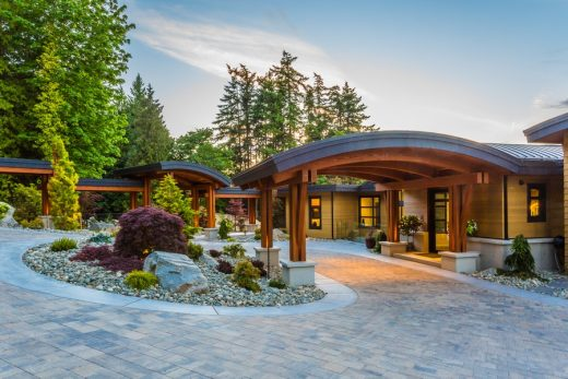 Residence on Vancouver Island