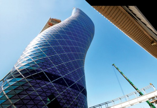 Capital Gate - Building Structure Marvel