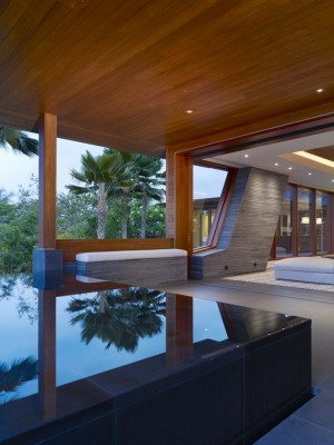 Contemporary Pacific Property design by Belzberg Architects