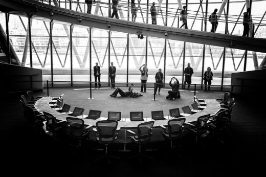 London City Hall interior