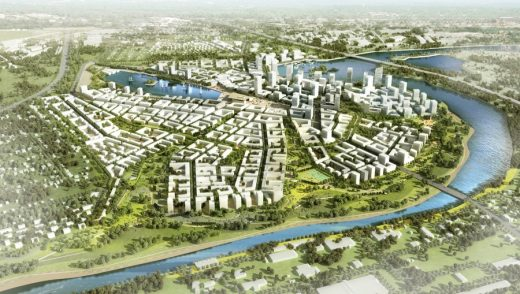 Moscow International Financial Center Masterplanning