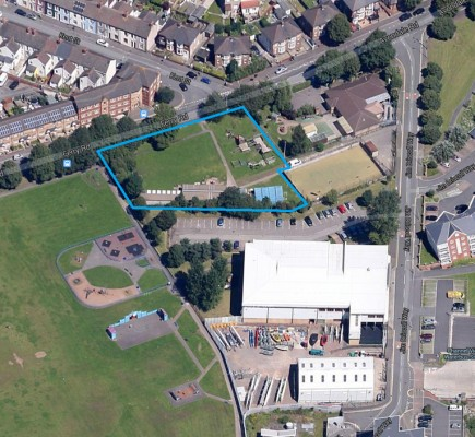 Grangetown-School-cardiff-architects-site location