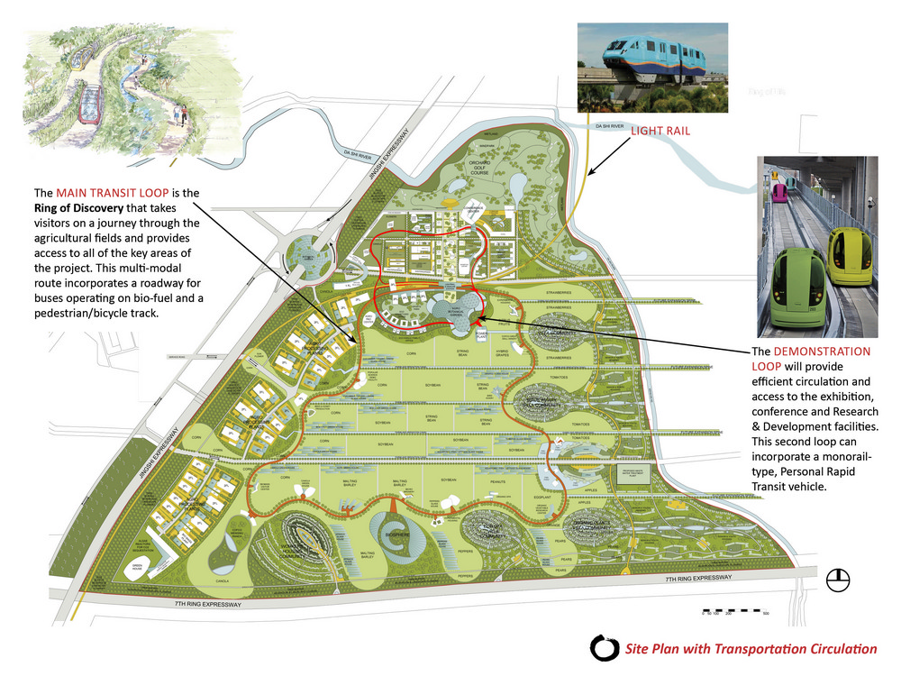 COFCO Agricultural Eco Valley Master Plan E architect