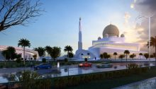 Islamic Centre in Ras Al Kaimah UAE building design