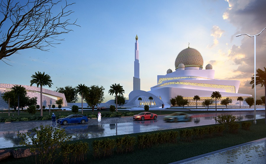 islamic centre in ras al kaimah uae e architect