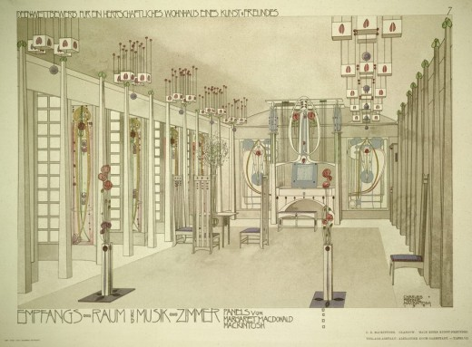 Mackintosh architecture exhibition riba e architect for Interior design apprenticeships london